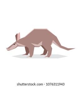 Flat geometric Aardvark