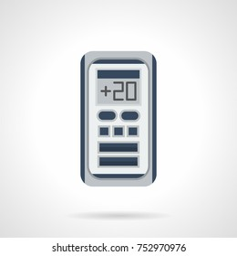 Flat icon digital climate control