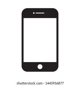 Flat icon in the form of smartphone technology