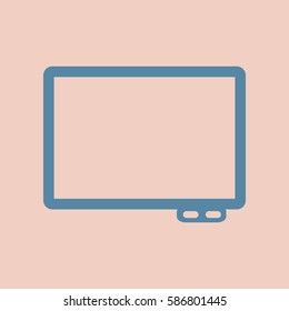 flat icon interactive board