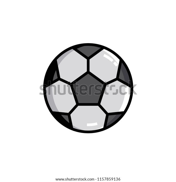 Flat Icon Machine Learning Data Science Stock Vector