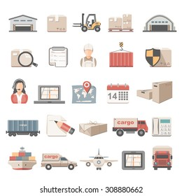 Flat Icons - Logistic