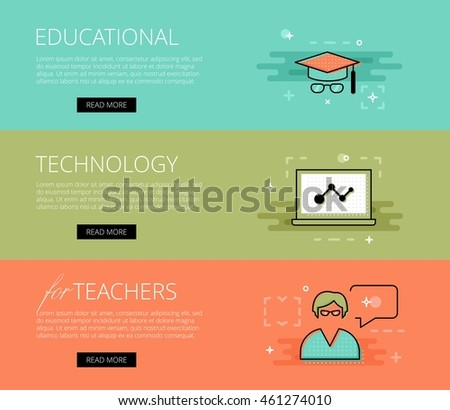 Educational Website Banners Kid Annual Day Banners