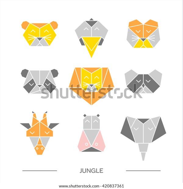 Hsi Min Tai's Origami Animals by Hsi Min Tai   620x600