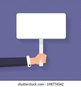 Flat Stlye Message Board