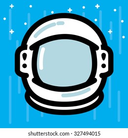 Cartoon Astronaut Helmet Images, Stock Photos & Vectors | Shutterstock
