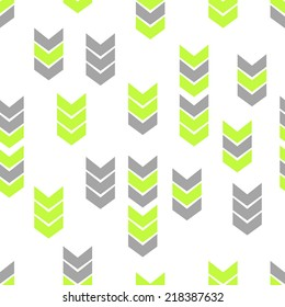 Flat Style Seamless Arrow Vector Background Pattern textile fabric fashion