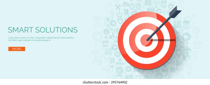 Flat target. Business aims. Smart solutions.