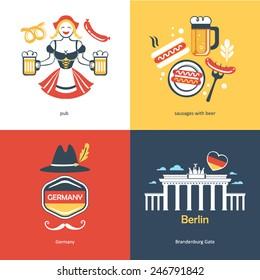 Flat travel Germany