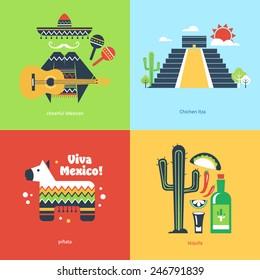 Flat travel Mexico