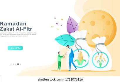 zakat images stock photos vectors shutterstock https www shutterstock com image vector flat vector cartoon illustration ramadhan kareem 1711076116