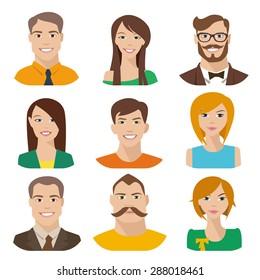 笑顔 横顔 男性のイラスト素材画像ベクター画像 Shutterstock