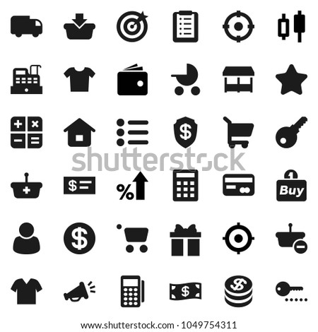 Flat Vector Icon Set Japanese Candle Stock Vector (Royalty