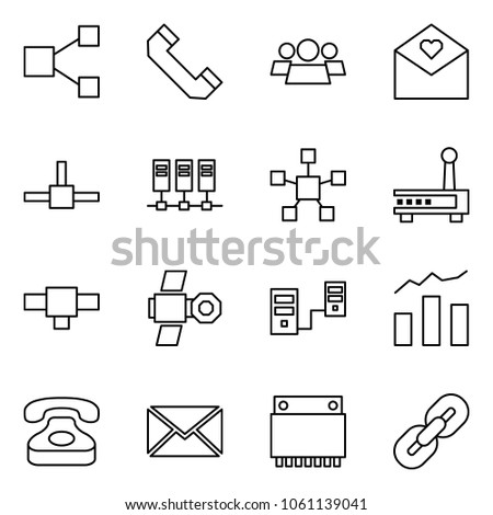 Flat Vector Icon Set Share Vector Stock Vector (Royalty Free