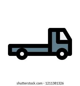 flatbed logistic truck