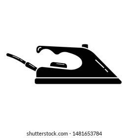 Flatiron icon. Simple illustration of flatiron vector icon for web design isolated on white background