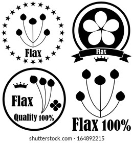 Flax. Icon