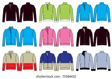 Fleece Jacket Illustrations