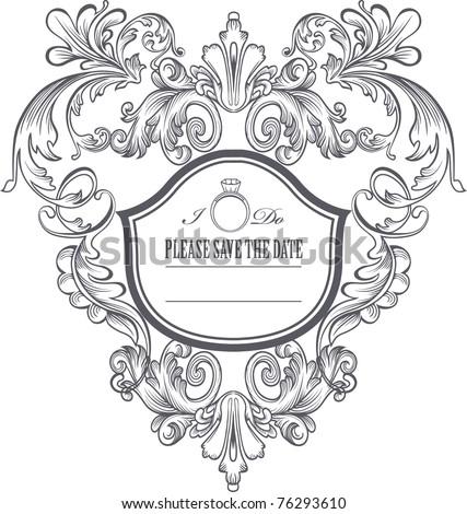 Fleur De Lis Frame Stock Vector Royalty Free 76293610 Shutterstock