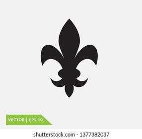 Fleur de lis heraldic vector