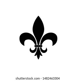 Fleur de lis template vector illustration