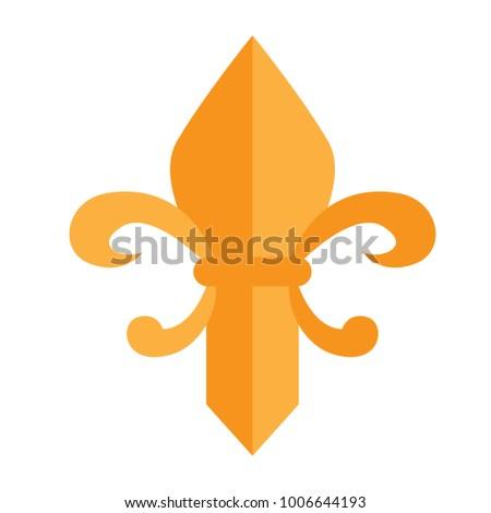 Fleur De Lys Stock Vector Royalty Free 1006644193 Shutterstock
