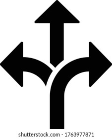 flexibility icon, vector illustration.arrow icon vector