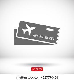 Flight Ticket Icon Images Stock Photos Vectors