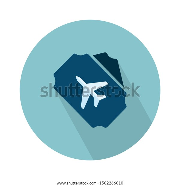 flight ticket icon - From web, universal and Miscellaneous Icons set
