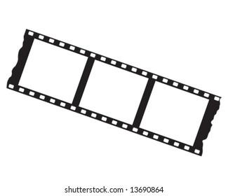 flim strip vector illustration