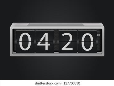 Alarm Clock Font Images, Stock Photos & Vectors | Shutterstock