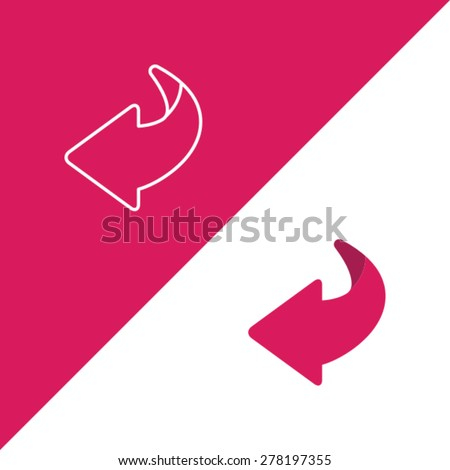 Flip Over Or Turn Page Icon
