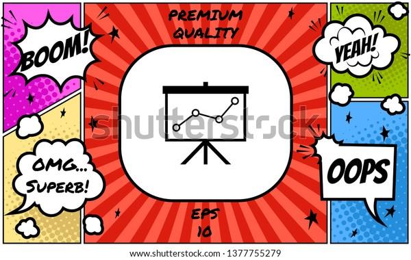 Flipchart clipart, image, graphic, cartoon free