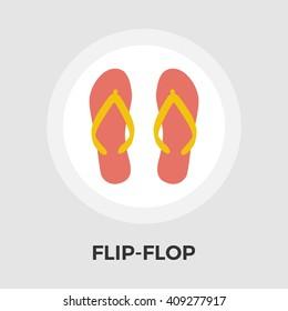 Flip-Flop icon vector.