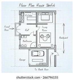 House  Planning Sketch Images Stock Photos Vectors