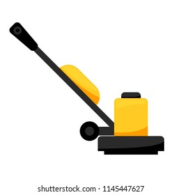 Floor Sander icon. Clipart image isolated on white background