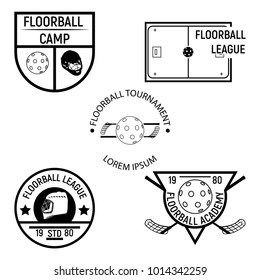 Floorball logo for the team and the cup