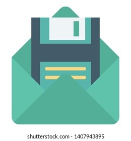 Floppy, floppy disk Vector Icon