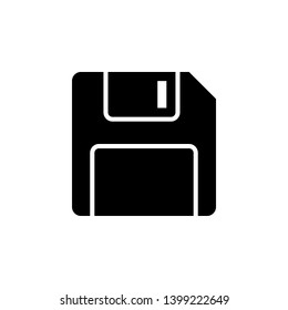 Floppy Disk vector icon. This icon use for admin panels, website, interfaces, mobile apps