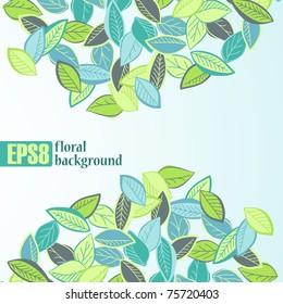 floral background, eps8