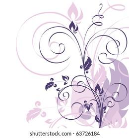 Floral Background. Vector. eps10.