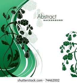 Floral Background. Vector Eps10.