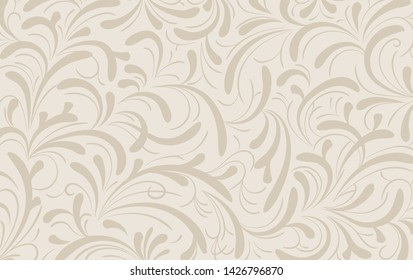 Floral background vector. ornament with floral textures for wallpaper, fabric, packages, broshure, covers, invitations, and decorations. eps vector 10.