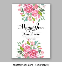 floral background for wedding invitation baby shower invitation bridal shower christmas party invitation
