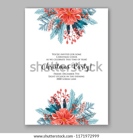 Floral Background Wedding Invitation Baby Shower Stock Vector