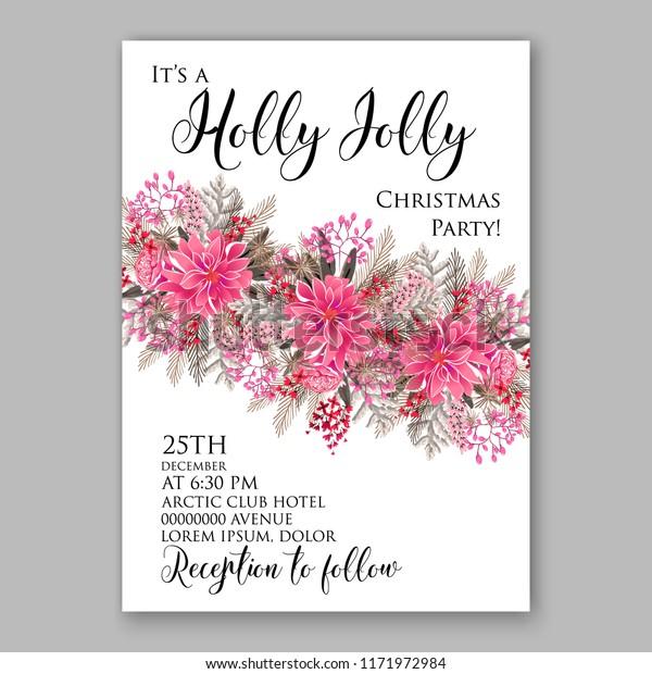 Floral Background Wedding Invitation Baby Shower Royalty