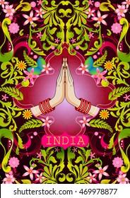 Namaste Hands Images, Stock Photos & Vectors | Shutterstock