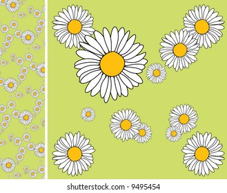 Floral endless pattern - texture