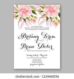 Japanese Wedding Invitation Images Stock Photos Vectors