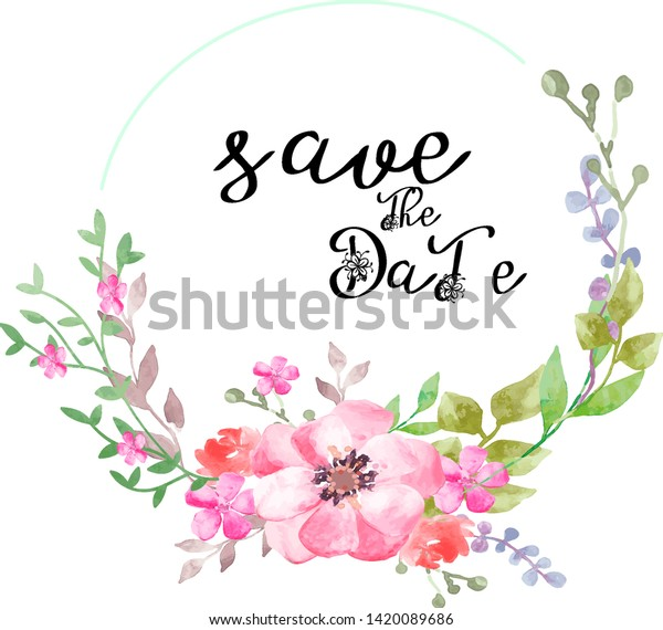floral nature frame logo template stock vector royalty free 1420089686 shutterstock